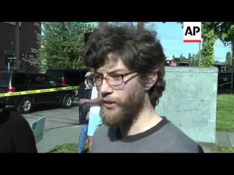 Students from Seattle Pacific University describe the scene after a lone gunman armed with a shotgun