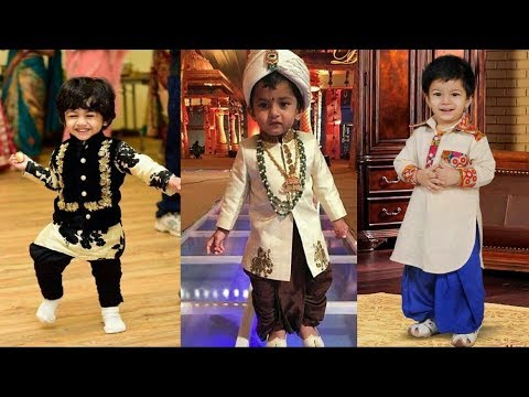 Boys Ethnic Wear | Indian Kids traditional dress designs 2017 | Party wear collection
