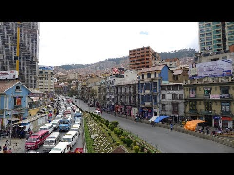 Walking in La Paz (Bolivia)