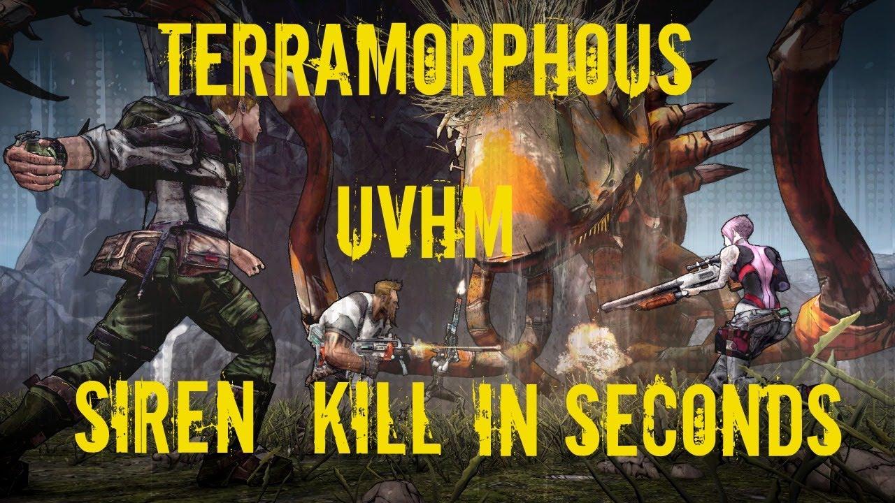 Killing terramorphous uvhm guide