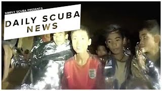 Daily Scuba News - Scuba Divers To Help Schoolboys Trapped In A Cave System
