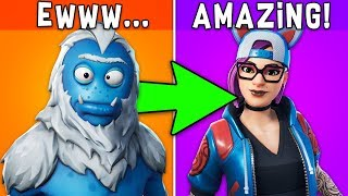 RANKING ALL SEASON 7 SKINS FROM WORST TO BEST! (Fortnite Battle Royale)