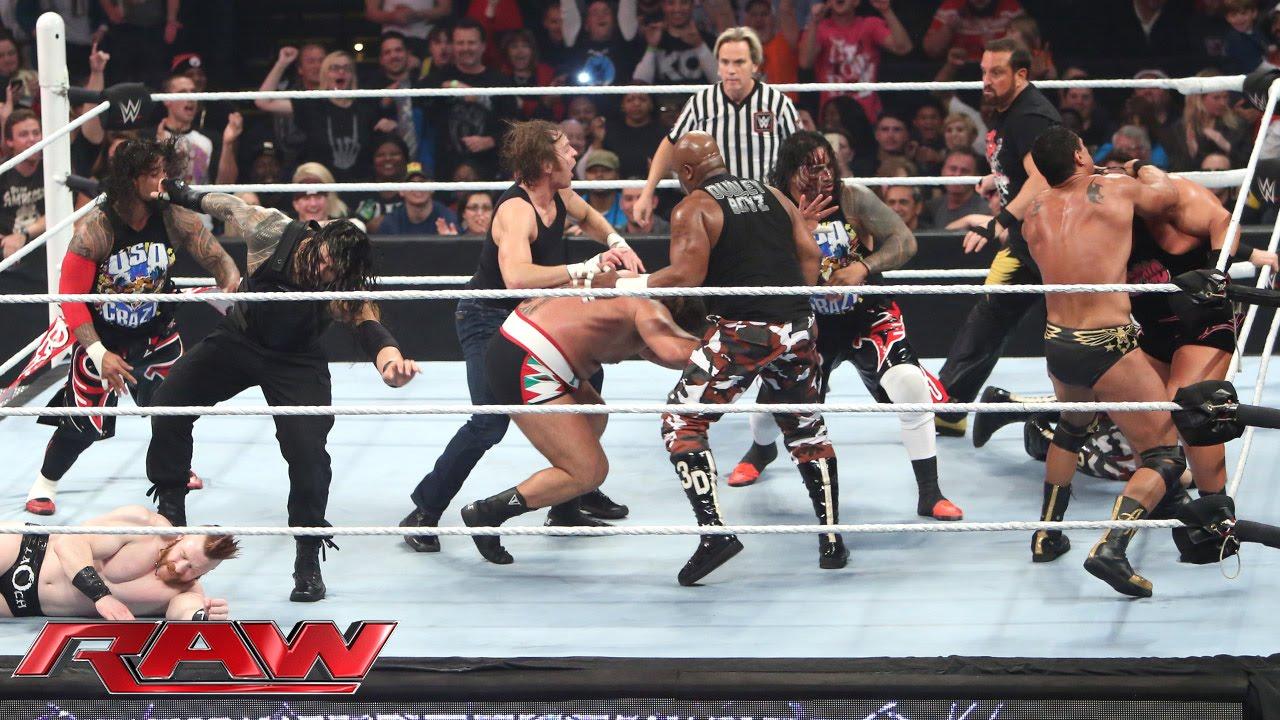 Download 16-Man Elimination Fatal 4-Way Elimination Tag Team Match: Raw, December 7, 2015