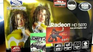 ATI Radeon HD 5970 Video Card First Look & Unboxing Linus Tech Tips