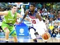 Fiba Basketball Friendly Game USA-SLOVENIA First Half