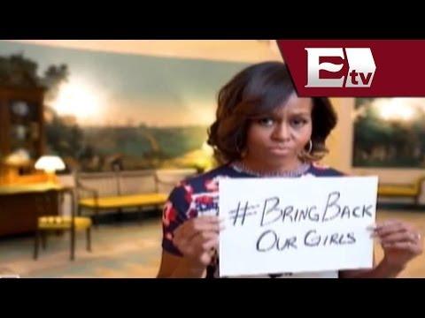 Michelle Obama se suma a campaña por la liberación de niñas en Nigeria / Excélsior informa