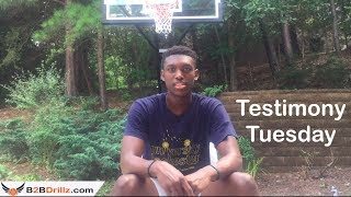 Its More Than Just Basketball | Testimony Tuesday - Motivation For Players