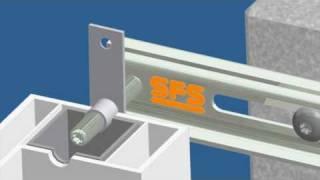 Ciepły montaż na kotwach - konsolach systemy JB-D