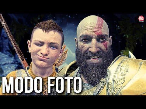 GOD OF WAR - O INCRÍVEL MODO FOTO || CONFERINDO OS DETALHES DE PERTO!