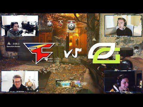 OpTic vs FaZe: 2V2 SNIPING - Who Will Win?!