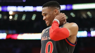Repeat youtube video Russell Westbrook 41 Points in Under 20 Minutes! | 2017 NBA All-Star Game | 02.19.17