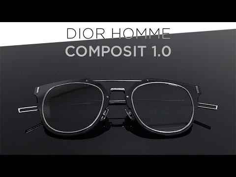 101d0b07f09 Dior Homme Composit 1.0 Titanium Sunglasses Unboxing - YouTube