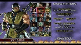 Mortal Kombat : Deadly Alliance - Playthrough (PS2)