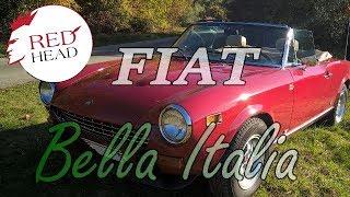 Fiat 124 Spider Sport 1800 ccm  - Motorblockrevision bei Redhead