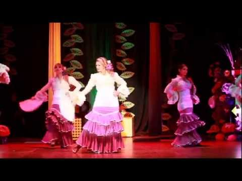 Fiesta de Alicia: flamenco colombianas. Academia de flamenco Jaleo's