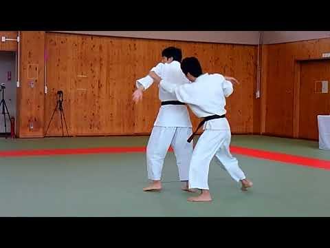 Yoshinkan Aikido Oyamada Dojo in Yamanashi 2017  Instructors.