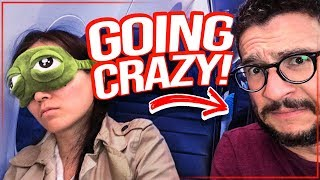 TRAVELLING WITH KIDS! Montreal to San Diego - 3 kids, 3 layovers [Viva Frei Family Vlog] Video
