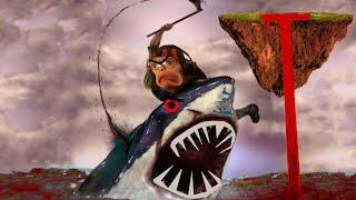 ZOMBIE VS MONSTERFISH IN HELL! || Nightmare Fishing Torunament
