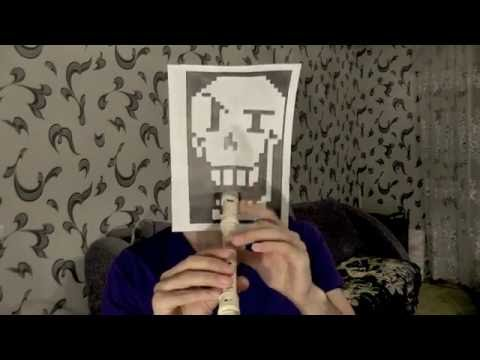 Undertale - Bonetrousle Recorder (Block Flute) Nyeh Heh Heh!
