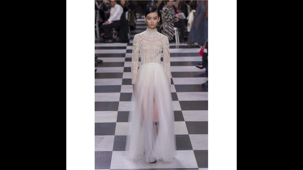 a99b73610 احدث فساتين سهره لعام 2018- Christian Dior | fashion - YouTube