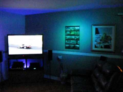 Led Del Eclairage Couleur Ambiant Youtube