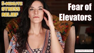 Fast fix for a FEAR of Elevators! - Stress Relief Series / EFT / Cat Lady Fitness