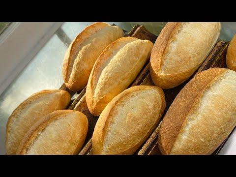 Cách Làm Bánh Mì Việt Nam100% Men Tự Nhiên - Vietnamese Baguette With 100% Sourdough Starter