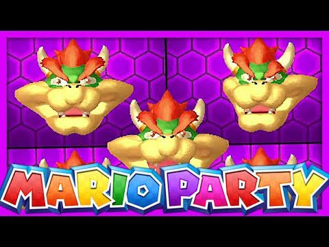 PAUVRE BOWSER... | MARIO PARTY THE TOP 100