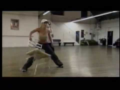 Rehearsal With A Chair (Making Of Stronger)