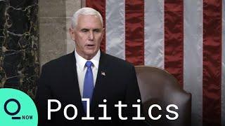 Pence Says He Won't Invoke 25th Amendment to Remove Trump in Letter to Pelosi
