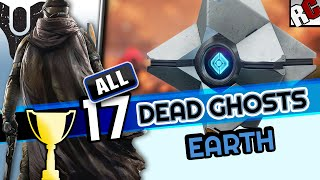 Destiny - All Dead Ghosts EARTH - GHOST HUNTER Guide - Achievement/Trophy - All Ghost Locations