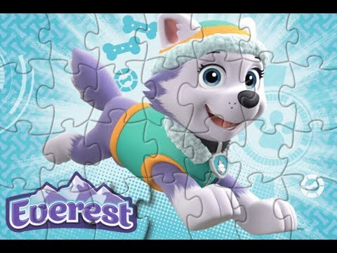 EVEREST! Paw PATROL!  Puzzle Games For Kids |  Jigsaw | Learn Puzzle Game! Yapboz |