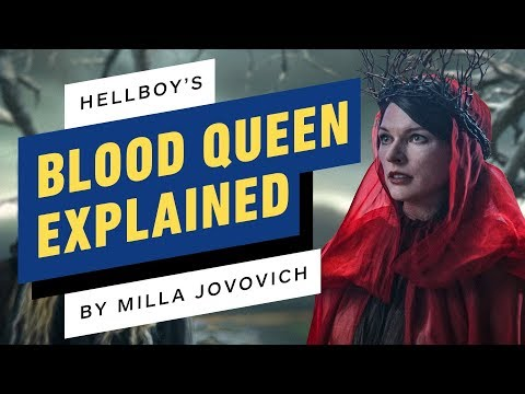 Hellboy's Milla Jovovich Explains the Blood Queen