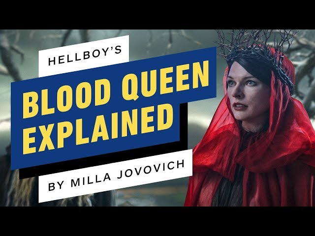 Hellboys Milla Jovovich Explains the Blood Queen