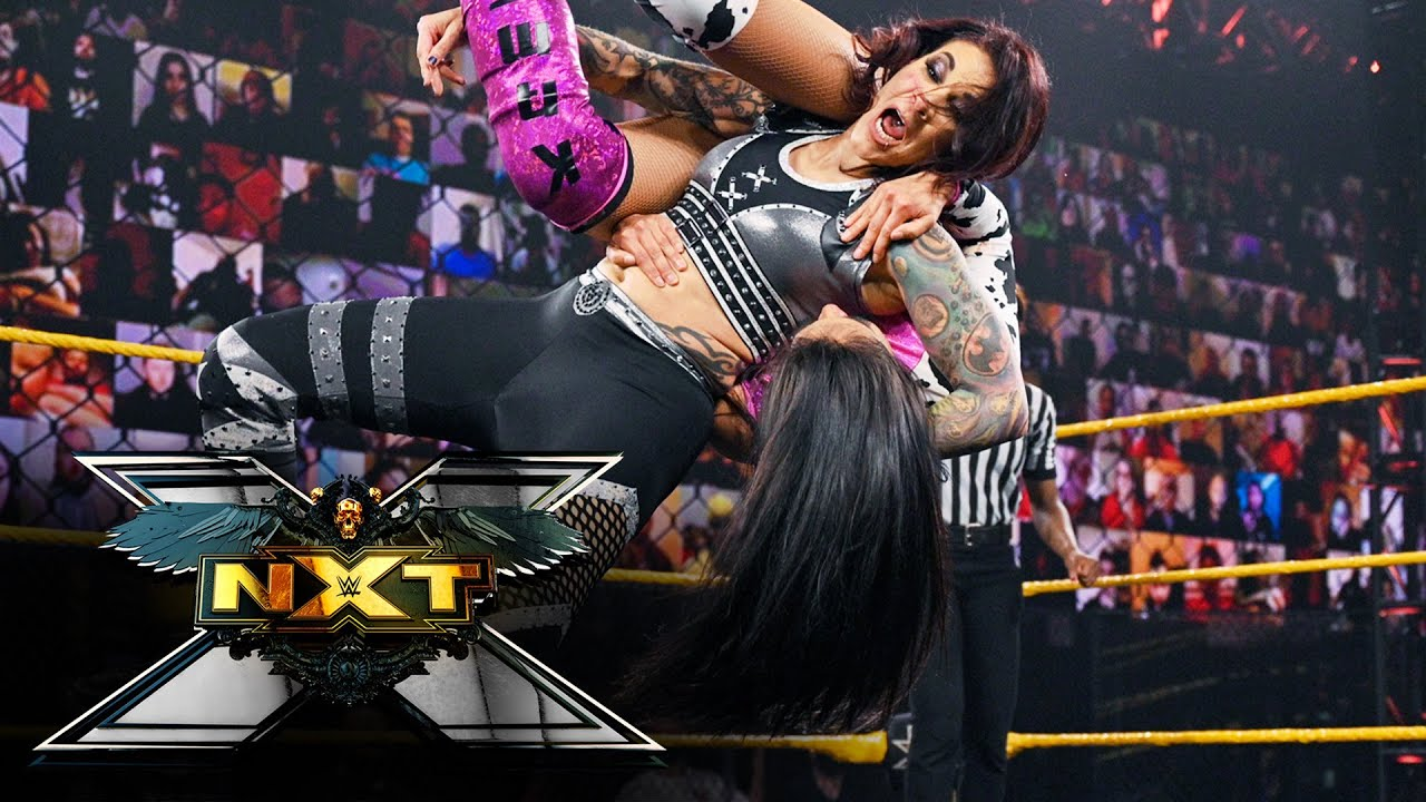 Download Mercedes Martinez vs. Jessi Kamea w/Robert Stone and Aliyah: WWE NXT, April 13, 2021