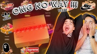 BEST MYSTERY BRAND UNBOXING $2,000 WORTH OF ONLINE HYPEBEAST MYSTERY BOXES!! *NOT SPONSORED