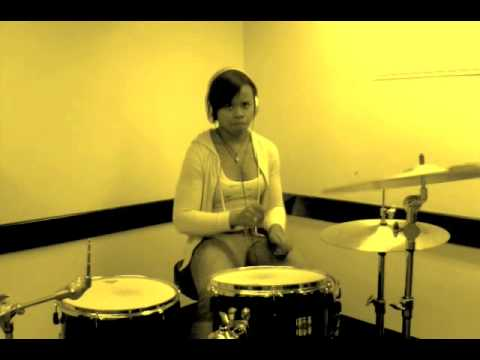 """Imma Be- Black Eyed Peas (drum cover by Taylor """"Pocket Queen Gordon)"""