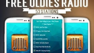 Free Oldies Radio App - Android Application