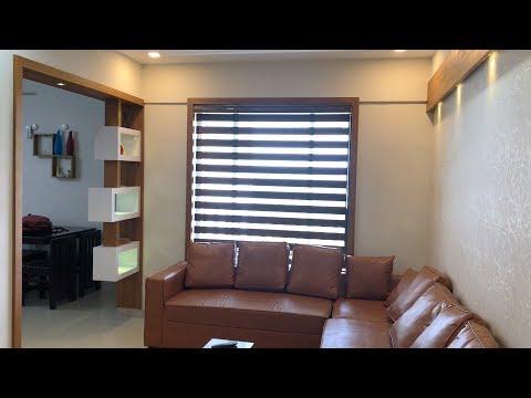 Interior design of beautiful 2 bedroom apartment | Video tour