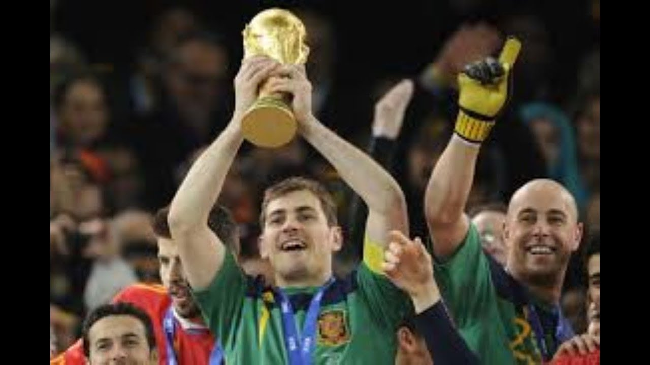 5cdc9478a36 Iker Casillas became a top goalkeeper for Real Madrid and the Spanish teams  won 2010 World Cup