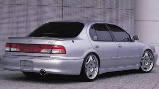 Осмотр Nissan Maxima vs Mitsubishi Sigma из Германии.Cefiro Diamante
