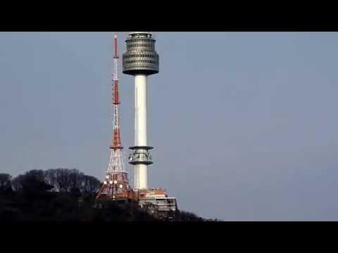 Nikon coolpix P900 ultra zoom - N Seoul tower, Korea