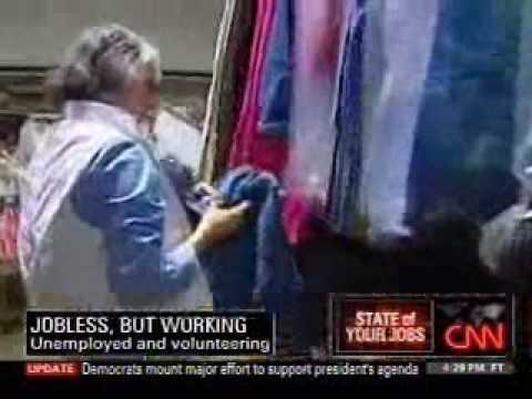 CNN on the Surge of Volunteering among the Unemployed