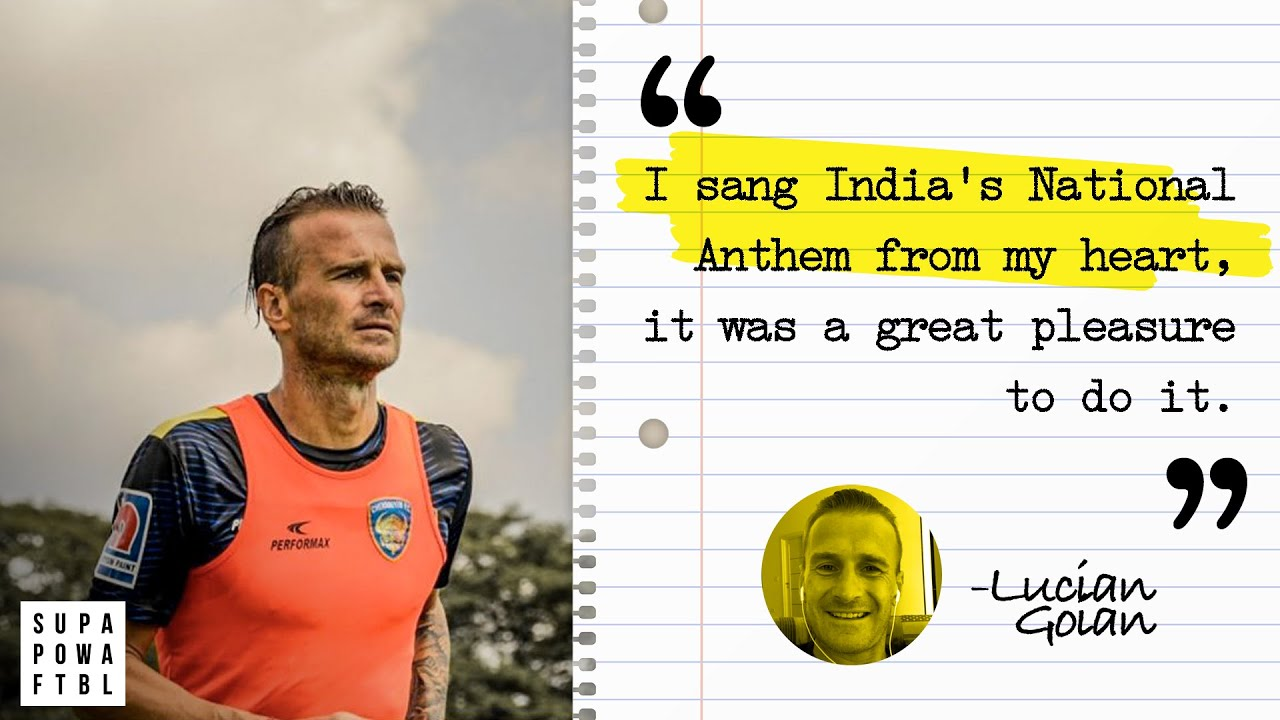 Why Goian sings India's National Anthem! 😍🇮🇳