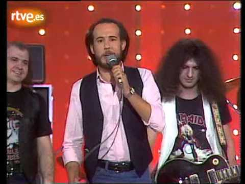 "BARON ROJO y ANTONIO FLORES  ""Tan solo rock and roll""   1982 Aplauso"