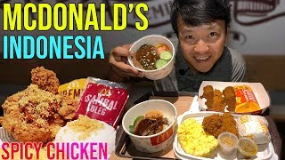 Dinner at McDonald's Indonesia & Truffle SOUP DUMPLINGS