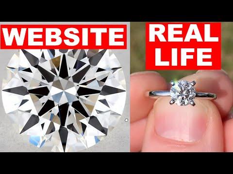 JAMES ALLEN Engagement Ring REVIEW (WEBSITE vs REAL LIFE)