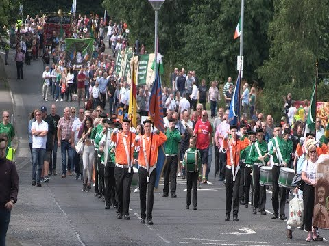 Huge National Hunger Strike Commemoration in Strabane Co  Tyrone