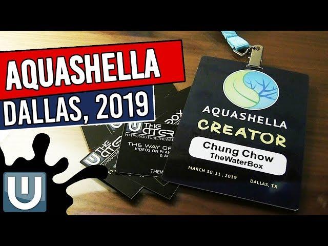 Aquashella Dallas 2019 - Fishtubers and more!