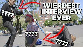 Ryan on Street - Wierdest Interviews Ever